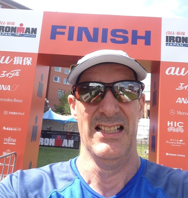 Ironman Finish Shute 2015
