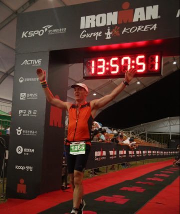 Gurye Ironman finish