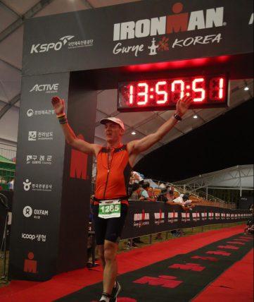 Gurye Ironman finish