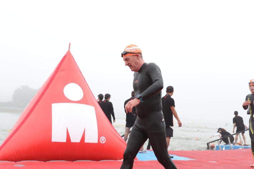 Gurye Ironman swim