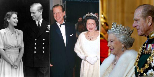 Prince Philip & Queen Elizabeth